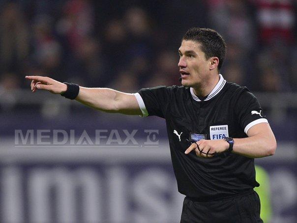 Istvan Kovacs a fluierat expirarea timpului de joc, dupa ce suporterii au proferat injurii la adresa sa