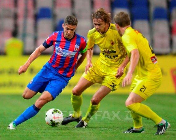 Steaua, �nvinsa acasa cu 1-0 de Ceahlaul �n Liga I