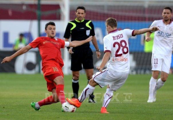 Rapid Bucuresti - Astra Giurgiu, scor 0-2, �n Liga I