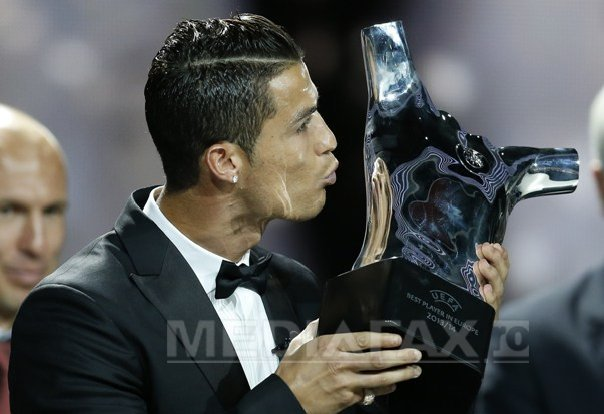 Cristiano Ronaldo, cel mai bun fotbalist al sezonului 2013/2014 �n Europa