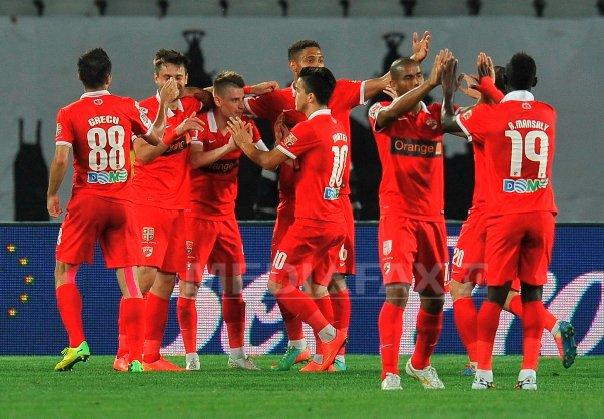 Dinamo a �nvins FC Brasov, scor 2-1, �n Liga I
