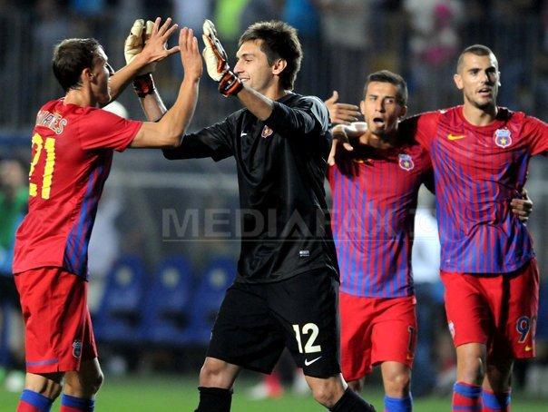 Steaua a �nvins FC Viitorul, scor 1-0, �n Liga I