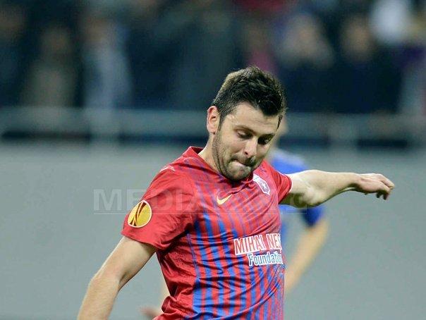 Raul Rusescu a revenit la Steaua
