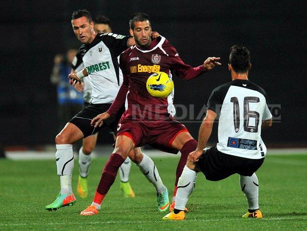 CFR Cluj - Universitatea Cluj, scor 1-0, �n Liga I