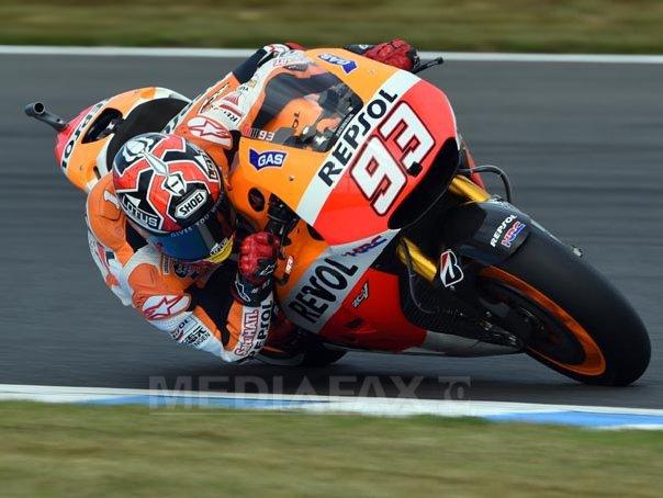 Marc Marquez, campion mondial la MotoGP a doua oara consecutiv
