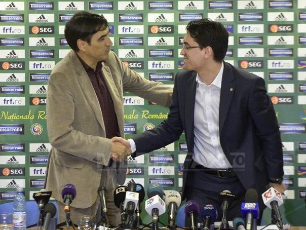 Burleanu: Negocierea rezilierii contractului lui Piturca s-a �nt�mplat �naintea meciului cu Ungaria