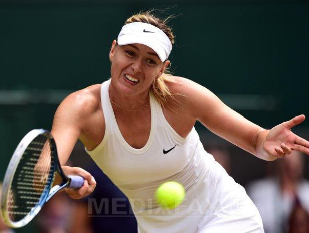 Maria Şarapova a suferit a doua �nfr�ngere la Turneul Campioanelor