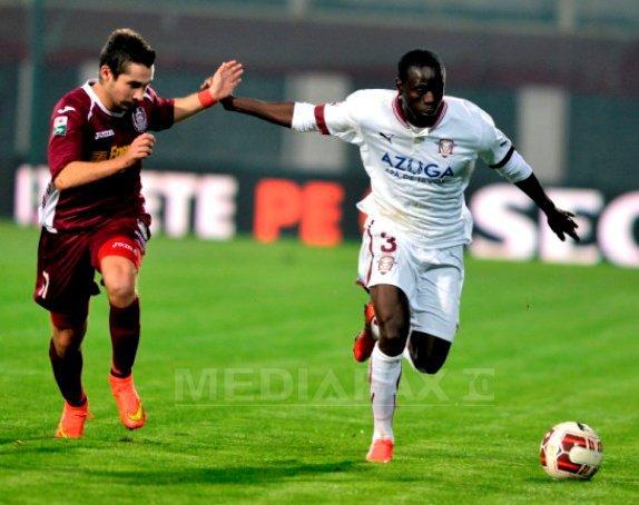 CFR Cluj a �nvins Rapid, scor 2-1, si s-a calificat �n sferturile Cupei Rom�niei