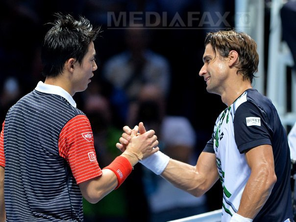 Kei Nishikori l-a �nvins pe David Ferrer la Turneul Campionilor