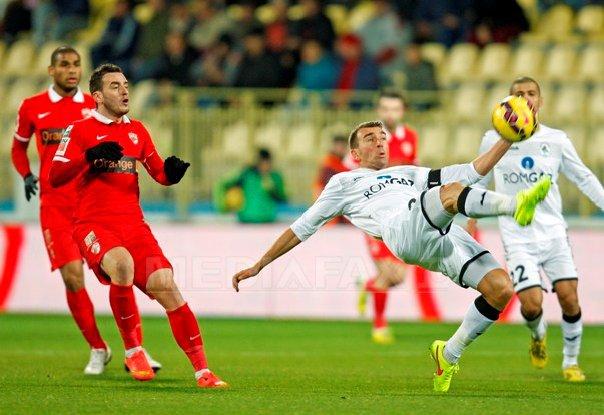Dinamo a �nvins Gaz Metan Medias, scor 2-1, �n Liga I