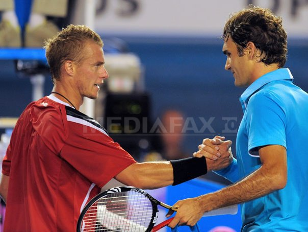 Federer si Hewitt vor juca un meci demonstrativ de tenis cu un nou format