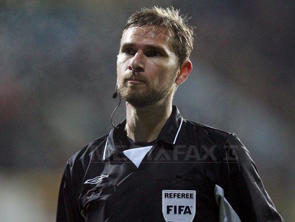 Alexandru Tudor va arbitra meciul CS Universitatea Craiova - Steaua Bucuresti