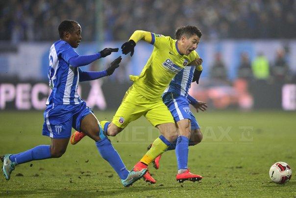 Steaua a �nvins CSU Craiova si s-a calificat �n semifinalele Cupei Rom�niei