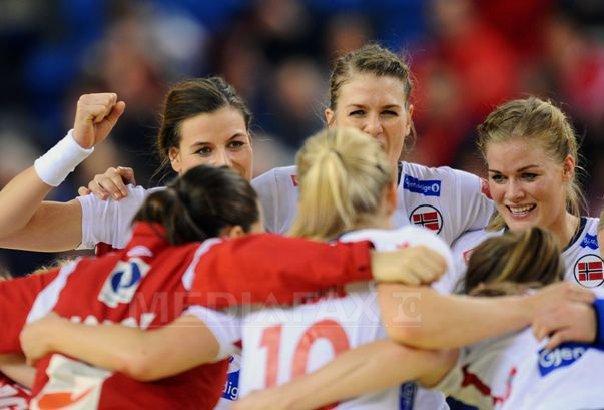 Norvegia, prima semifinalista a Campionatului European de handbal feminin