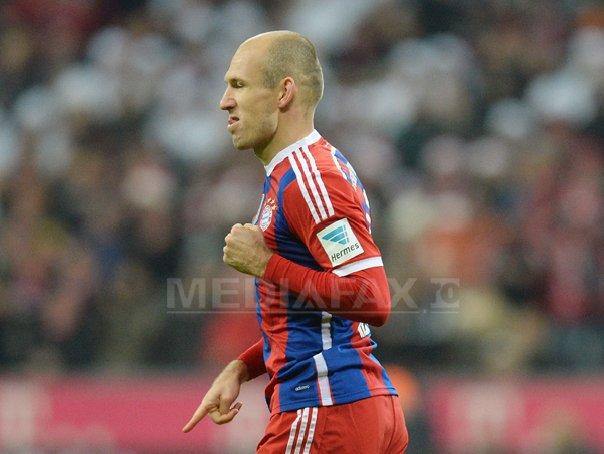 Arjen Robben a marcat golul 100 la Bayern Munchen