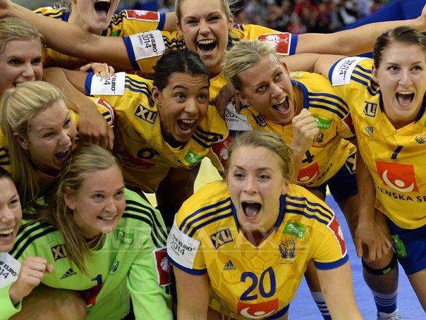 Suedia, medalie de bronz la Campionatul European de handbal feminin