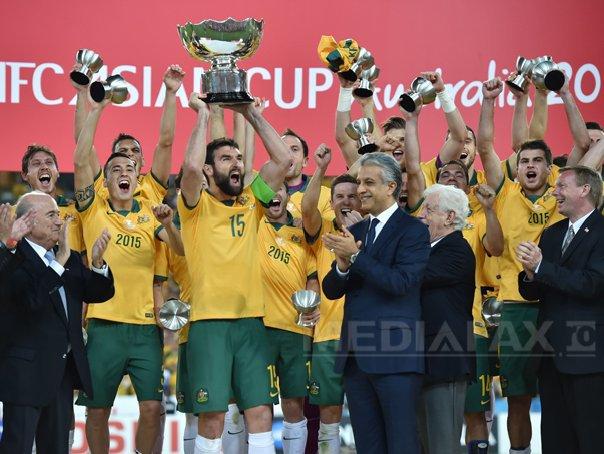 Australia a câştigat pentru prima dată Cupa Asiei