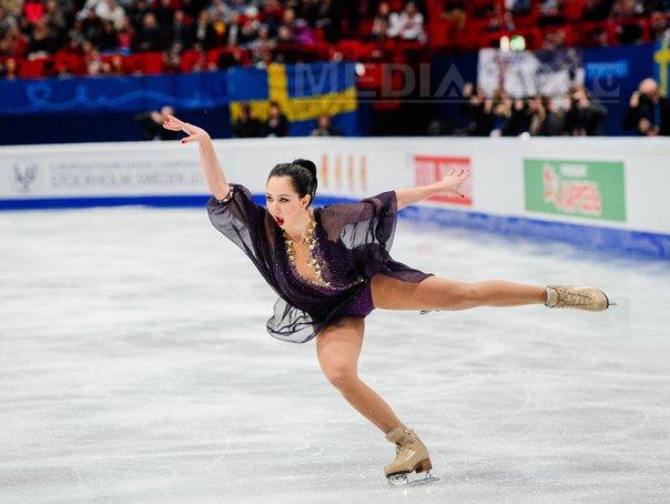 Elizaveta Tuktamişeva a câştigat titlul european la patinaj artistic