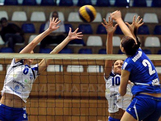 Imaginea articolului CSM Bucureşti s-a calificat în sferturile Challenge Cup la volei feminin