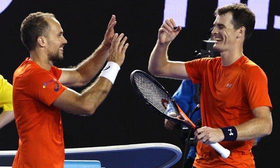Imaginea articolului Jamie Murray şi Bruno Soares au câştigat finala probei de dublu de la Australian Open