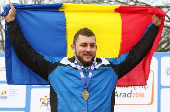 Imaginea articolului Andrei Gag, vicecampion mondial la aruncarea greutăţii