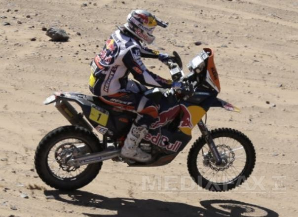 Imaginea articolului Emanuel Gyenes a încheiat pe locul 17 ediţia din acest a Raliului Dakar