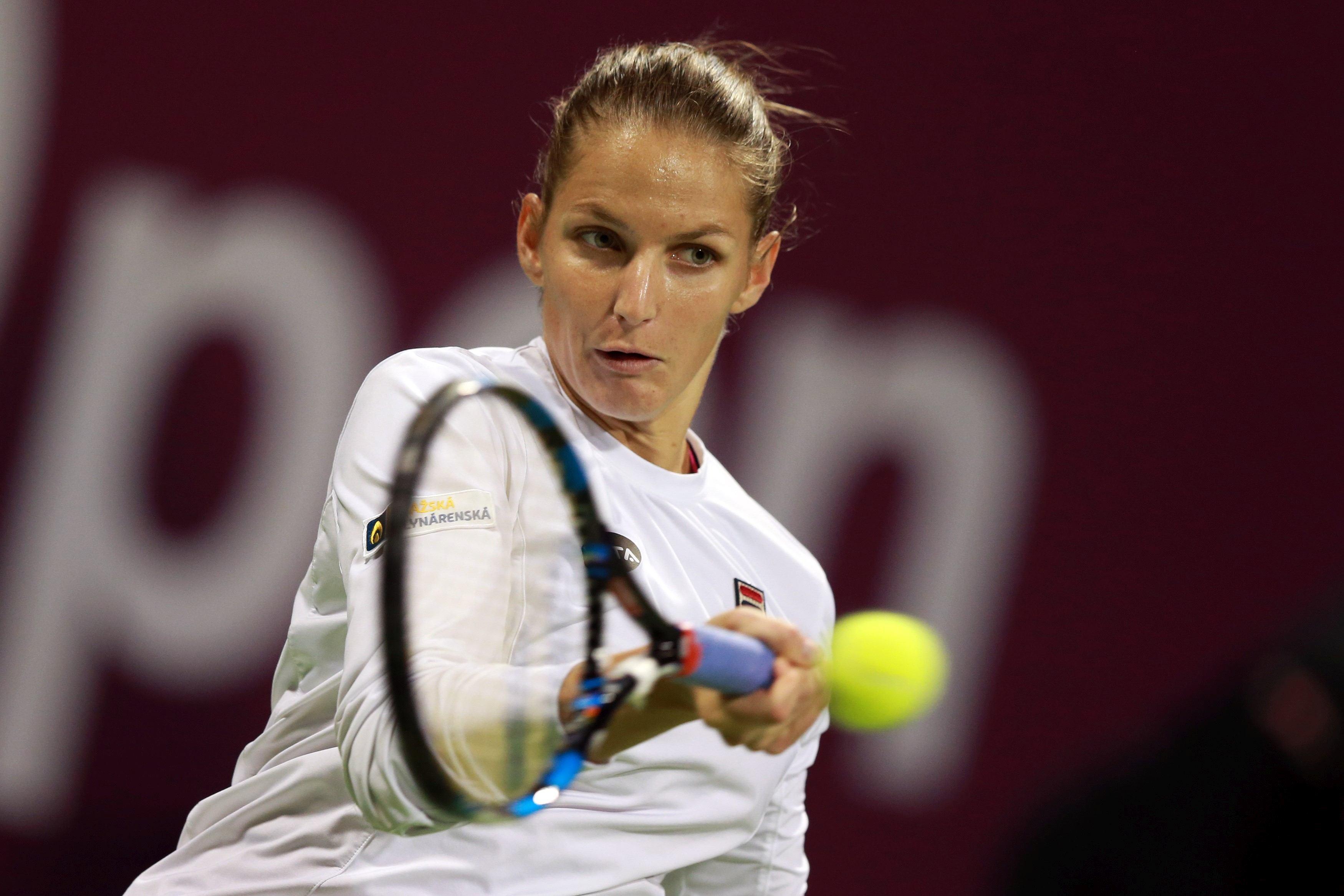 Karolina Pliskova a câştigat turneul de la Doha şi s-a distanţat de Simona Halep în clasamentul WTA