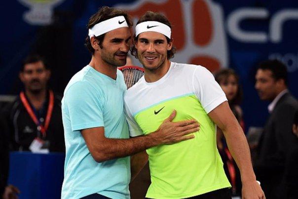 Imaginea articolului Roger Federer şi Rafael Nadal vor face pereche la dublu pentru prima dată în carieră