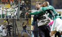 Imaginea articolului VIDEO 30 de fani au fost arestaţi şi 18 poliţişti răniţi după incidentele de la meciul Penarol - Palmeiras