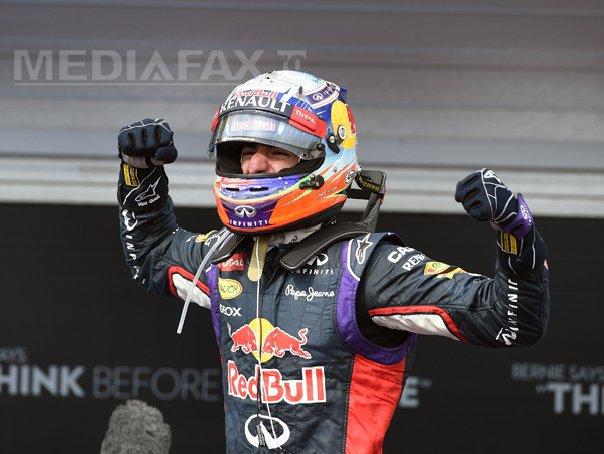 Imaginea articolului Daniel Ricciardo a câştigat Marele Premiu de Formula 1 din Azerbaidjan