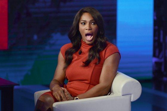 Imaginea articolului FOTO Serena Williams, însărcinată în luna a şasea, a pozat goală pentru revista Vanity Fair