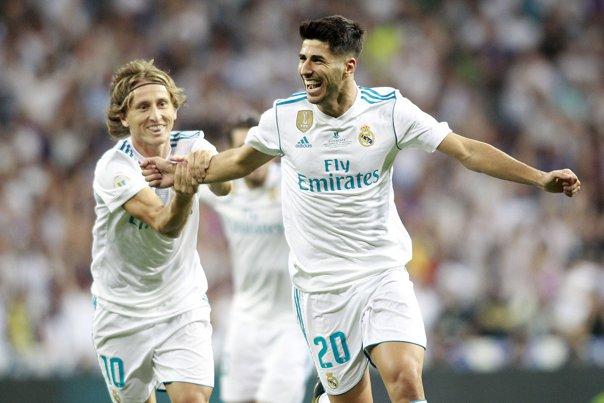 Imaginea articolului Real Madrid învinge FC Barcelona şi în retur şi cucereşte Supercupa Spaniei pentru a 10-a oară. Asensio, noul galactic al madrilenilor
