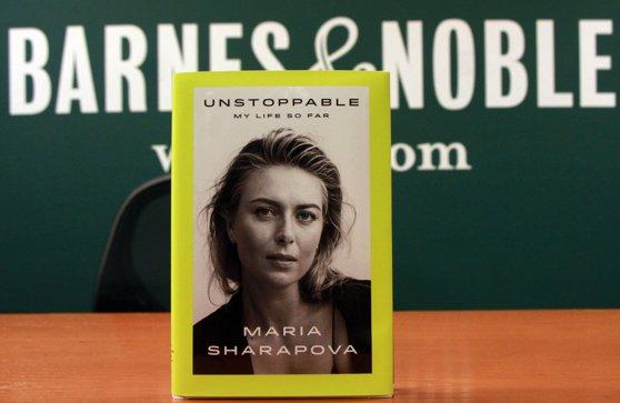 """Imaginea articolului Controversata Maria Şarapova face dezvăluri în """"Unstoppable: My life so far""""/ Cartea s-a vândut în 50.000 de exemplare numai în prima zi/ Cum a impresionat-o copilul unei românce"""
