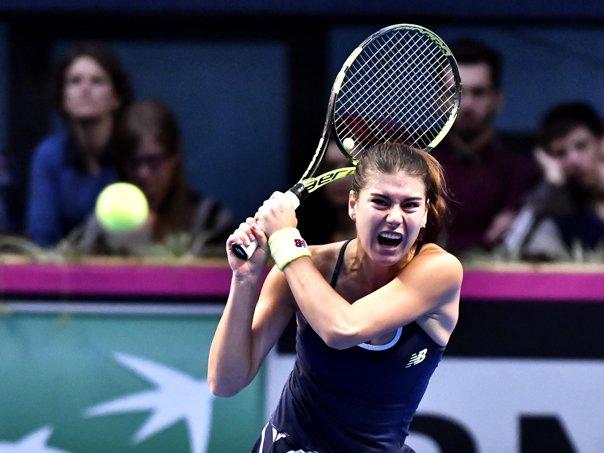Imaginea articolului Sorana Cîrstea a fost eliminată în turul al doilea, la Wuhan Open