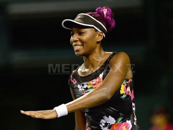 Imaginea articolului Venus Williams a învins-o pe Garbine Muguruza şi s-a calificat în semifinale la Turneul Campioanelor