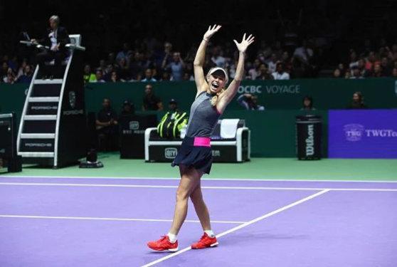 Imaginea articolului Finala Turneului Campioanelor 2017. Caroline Wozniacki câştigă pentru prima oară turneul, după o partidă perfectă cu Venus Williams