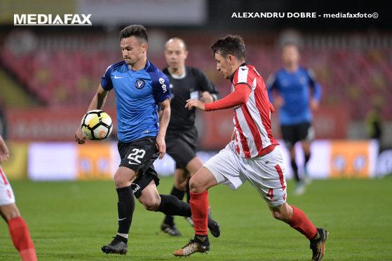Imaginea articolului Viitorul a învins Dinamo, cu scorul de 4-0 / Proteste ale suporterilor dinamovişti, jandarmii au intervenit