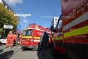 Imaginea articolului Motorul autocarului care transporta 27 de suporteri ai echipei Gaz Metan Mediaş a luat foc