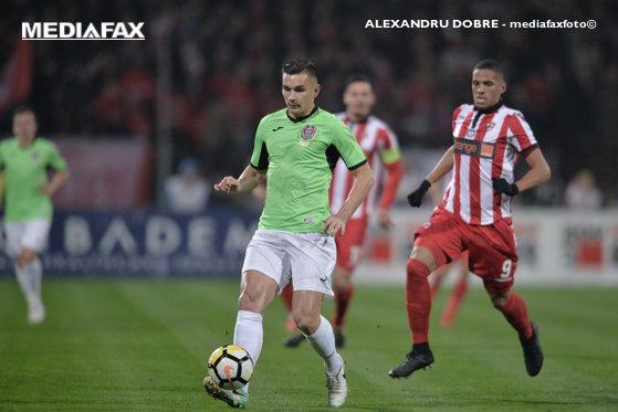 Imaginea articolului CFR Cluj învinge Dinamo şi revine pe primul loc în Liga 1