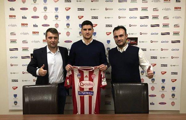 Imaginea articolului Sepsi l-a transferat pe fundaşul croat Jure Obsivac