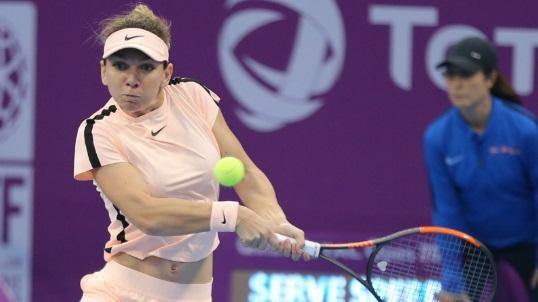 Imaginea articolului Turneul de la Doha   Simona Halep s-a calificat în sferturile de finală şi urmează să se confrunte cu o sportivă de doar 18 ani. Niculescu şi Buzărnescu au ratat calificarea / Cîrstea, făcută KO de Muguruza