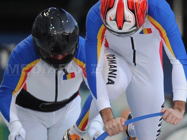 Imaginea articolului România, locul 16 la bob feminin pentru două persoane, după primele două manşe