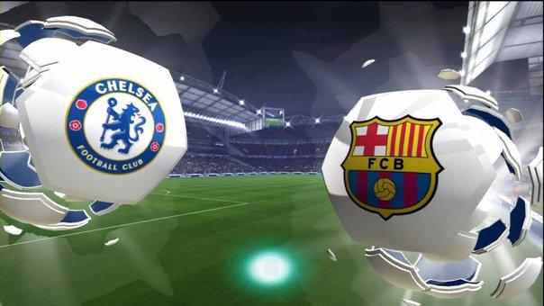 Imaginea articolului Remiză între Chelsea Londra şi FC Barcelona, scor 1-1, în manşa tur a optimilor Ligii Campionilor