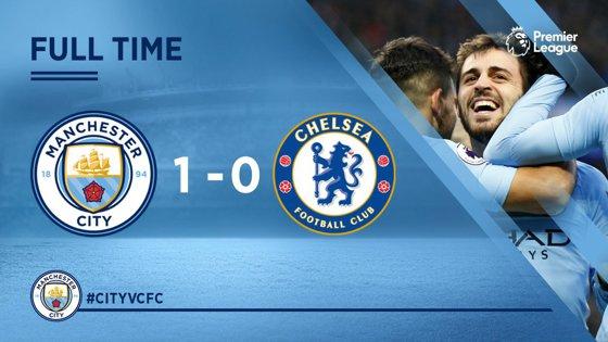 Imaginea articolului Manchester City - Chelsea, scor 1-0, în etapa a 29-a din Premier League
