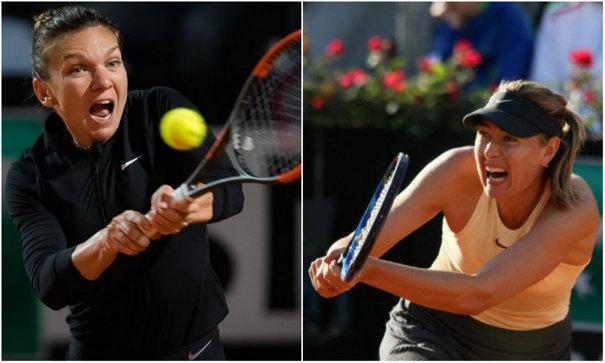 Imaginea articolului Victorie colosală! Simona Halep, în finala turneului de la Roma, după ce a învins-o pe Maria Şarapova