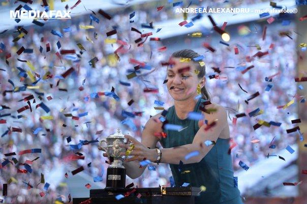 Imaginea articolului Simona Halep şi Mihaela Buzărnescu, premiantele lunii mai în tenisul mondial
