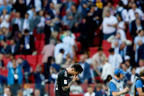 """Imaginea articolului CM 2018   """"Nu Islanda l-a oprit pe Messi, ci naţionala Argentinei"""" / Discursul lui Messi după debutul ratat la Mondial"""