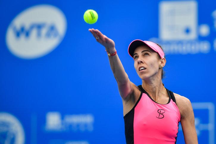 Imaginea articolului Mihaela Buzărnescu o învinge pentru a doua oară într-o lună pe Svitolina: Sunt foarte fericită cu jocul meu / Va fi super-duel şi în semifinale la Birmingham