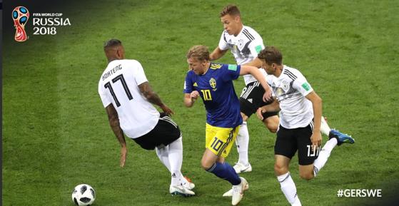 Imaginea articolului CM Rusia 2018 | Revenire fantastică în prelungiri pentru Germania! Soarta s-a jucat în ultimele secunde din partida cu Suedia