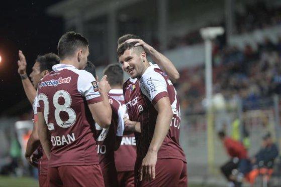 Imaginea articolului CFR Cluj a câştigat meciul din manşa tur din preliminariile Europa League cu Alashkert